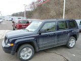 2014 True Blue Pearl Jeep Patriot Latitude 4x4 #78461695