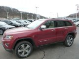 2014 Deep Cherry Red Crystal Pearl Jeep Grand Cherokee Limited 4x4 #78461692