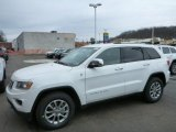2014 Bright White Jeep Grand Cherokee Limited 4x4 #78461691