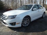 2010 White Platinum Tri-coat Metallic Ford Fusion SEL V6 #78461561
