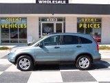 2010 Opal Sage Metallic Honda CR-V EX #78461675