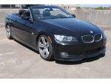 2008 Black Sapphire Metallic BMW 3 Series 335i Convertible #78461948