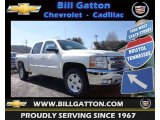 2013 White Diamond Tricoat Chevrolet Silverado 1500 LT Crew Cab 4x4 #78461937