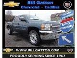 2013 Blue Granite Metallic Chevrolet Silverado 1500 LT Crew Cab 4x4 #78461935