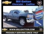 2013 Blue Granite Metallic Chevrolet Silverado 1500 LT Extended Cab 4x4 #78461933