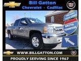 2013 Graystone Metallic Chevrolet Silverado 1500 LT Crew Cab 4x4 #78461926