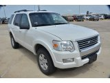 2010 Ford Explorer White Suede