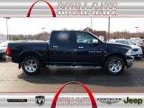 2012 True Blue Pearl Dodge Ram 1500 Laramie Crew Cab 4x4 #78523710