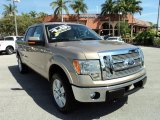 2012 Pale Adobe Metallic Ford F150 Lariat SuperCrew 4x4 #78523770