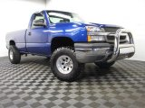 2003 Arrival Blue Metallic Chevrolet Silverado 1500 LS Regular Cab 4x4 #78523898
