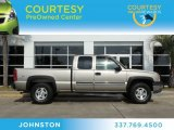 2003 Light Pewter Metallic Chevrolet Silverado 1500 LS Extended Cab 4x4 #78550190