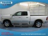 2010 Stone White Dodge Ram 1500 Laramie Quad Cab 4x4 #78550181
