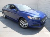 2013 Deep Impact Blue Metallic Ford Fusion SE 1.6 EcoBoost #78550262