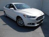 2013 White Platinum Metallic Tri-coat Ford Fusion SE 1.6 EcoBoost #78550261