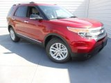 2013 Ruby Red Metallic Ford Explorer XLT #78550259