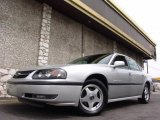 2001 Galaxy Silver Metallic Chevrolet Impala LS #7844737