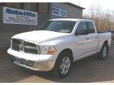 2011 Bright White Dodge Ram 1500 SLT Quad Cab 4x4 #78550250