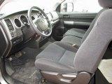 2010 Toyota Tundra Regular Cab 4x4 Black Interior