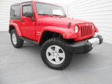2011 Flame Red Jeep Wrangler Sahara 4x4 #78550281