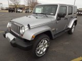 2013 Billet Silver Metallic Jeep Wrangler Unlimited Sahara 4x4 #78584885