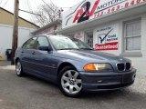 2001 Steel Blue Metallic BMW 3 Series 325i Sedan #78585101