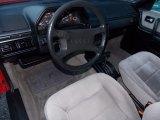 1986 Audi 5000 Interiors