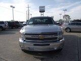 2013 Silver Ice Metallic Chevrolet Silverado 1500 LT Crew Cab #78585094