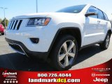 2014 Bright White Jeep Grand Cherokee Limited #78584720