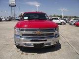 2013 Victory Red Chevrolet Silverado 1500 LT Crew Cab #78585089