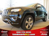 2014 Black Forest Green Pearl Jeep Grand Cherokee Overland 4x4 #78584717