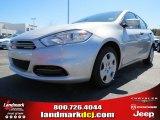 2013 Bright Silver Metallic Dodge Dart SE #78584702