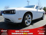 2013 Bright White Dodge Challenger R/T #78584700
