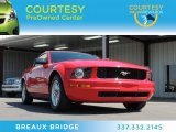 2007 Torch Red Ford Mustang V6 Premium Coupe #78585078