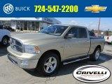 2011 White Gold Dodge Ram 1500 Big Horn Quad Cab 4x4 #78584956