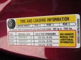2008 Chevrolet Silverado 1500 Z71 Extended Cab 4x4 Info Tag