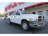 2004 Bright White Dodge Ram 1500 ST Quad Cab #78584583