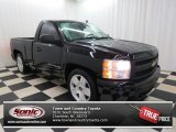 2008 Black Chevrolet Silverado 1500 LS Regular Cab #78584949
