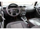 2009 Hummer H3 T Ebony/Pewter Interior