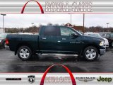 2011 Hunter Green Pearl Dodge Ram 1500 Big Horn Crew Cab 4x4 #78584537