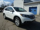 2013 White Diamond Pearl Honda CR-V EX-L AWD #78585027
