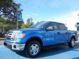 2012 Blue Flame Metallic Ford F150 XLT SuperCrew #78584657