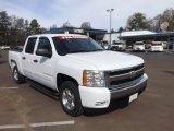 2008 Summit White Chevrolet Silverado 1500 LT Crew Cab #78585019