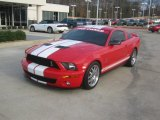 2007 Torch Red Ford Mustang Shelby GT500 Coupe #78584917