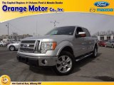 2010 Ingot Silver Metallic Ford F150 Lariat SuperCrew 4x4 #78584786