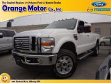 2010 Oxford White Ford F350 Super Duty Lariat SuperCab 4x4 #78584785