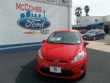 2013 Race Red Ford Fiesta SE Hatchback #78640024