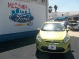 2013 Lime Squeeze Ford Fiesta SE Hatchback #78640021