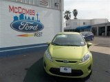2013 Lime Squeeze Ford Fiesta SE Hatchback #78640020