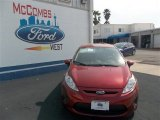 2013 Ruby Red Ford Fiesta SE Hatchback #78640019