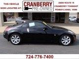2004 Super Black Nissan 350Z Coupe #78640137